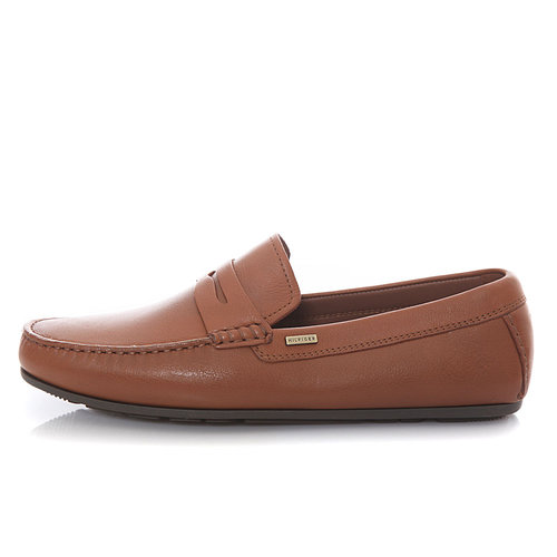 Tommy Hilfiger Classic Leather Penny Loafer - Brogues & Loafers - ΚΑΦΕ