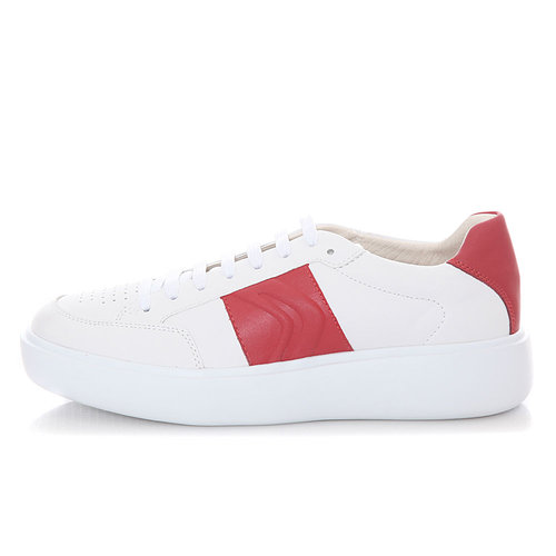 Geox U Ottaya - Sneakers - ΛΕΥΚΟ/ΚΟΚΚΙΝΟ