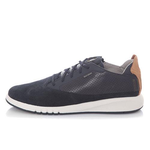 Geox U Aerantis - Sneakers - ΜΠΛΕ ΣΚΟΥΡΟ