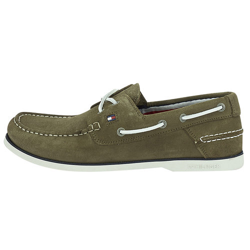 Tommy Hilfiger Classic Suede Boatshoe - Brogues & Loafers - ΛΑΔΙ