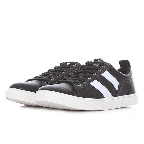 Levon - Sneakers - ΜΑΥΡΟ/ΛΕΥΚΟ