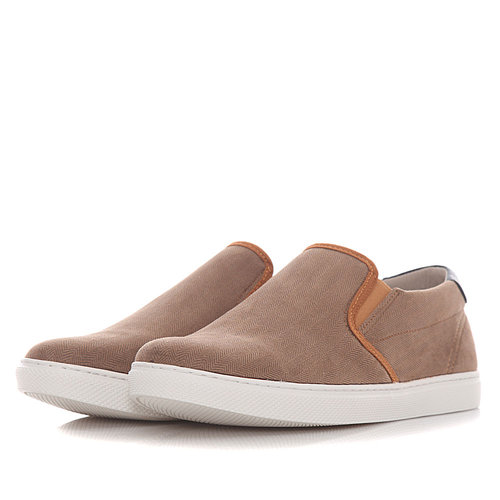 Levon - Sneakers - ΚΑΦΕ/ΜΠΛΕ