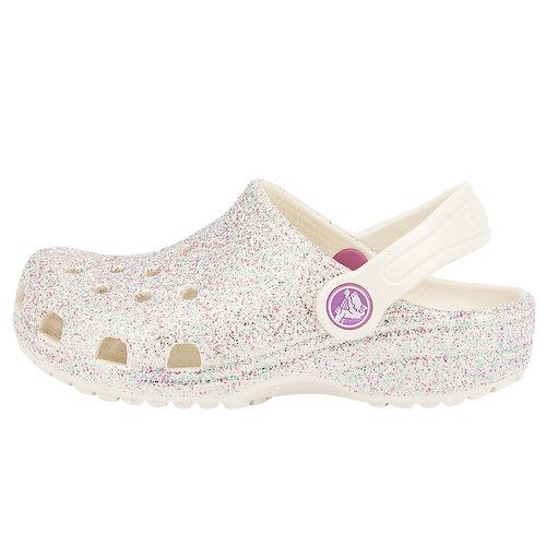 Crocs Classic Glitter Clog K - Σαγιονάρες - ΜΠΕΖ