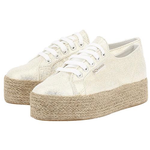 Superga Jerseyfrostlamew - Sneakers - ΧΡΥΣΟ