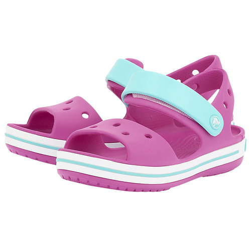 Crocs Crocband Sandal Kids - Σαγιονάρες - ΦΟΥΞΙΑ