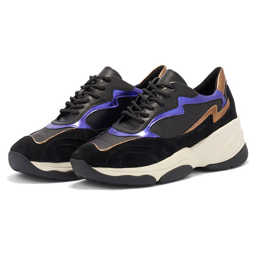 Geox D Kirya B - Sneakers - ΜΑΥΡΟ