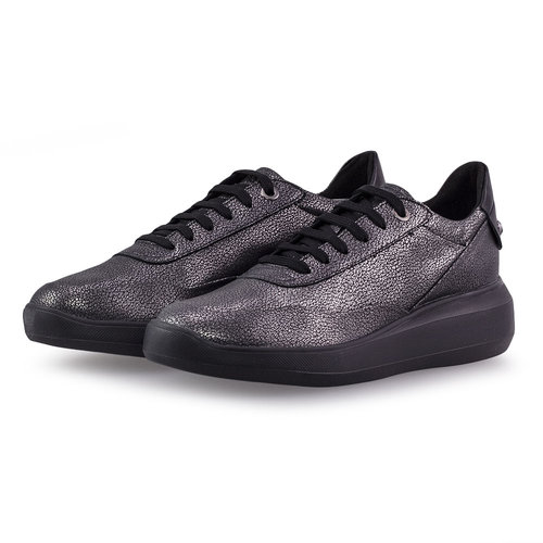 Geox D Rubidia A - Sneakers - ΓΚΡΙ