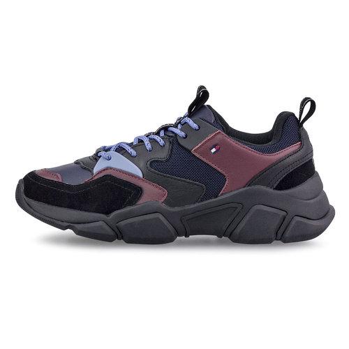 Tommy Hilfiger Cosy Chunky Sneaker - Sneakers - ΜΠΛΕ ΣΚΟΥΡΟ