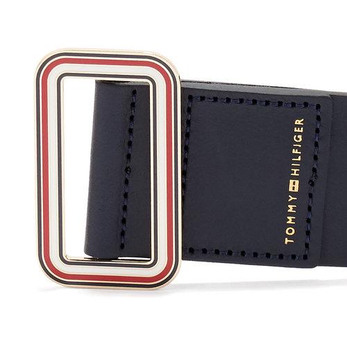 Tommy Hilfiger Buckle Waist Belt 5.0 - Ζώνες - ΜΑΥΡΟ