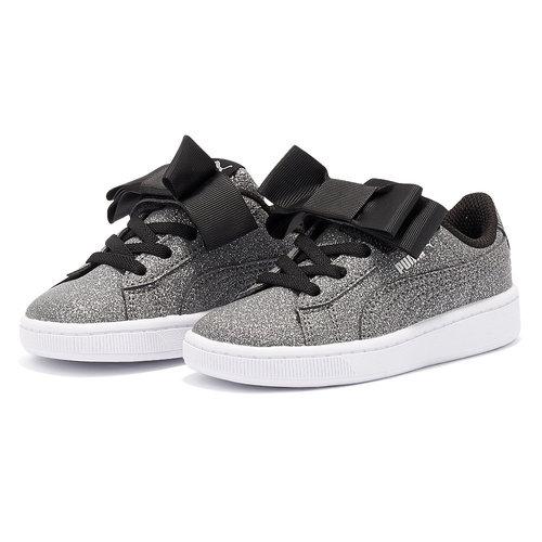 Puma Vikky V2 Ribbon Glitz Ac - Sneakers - ΓΚΡΙ