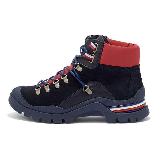 Tommy Hilfiger Corporate Outdoor Boot - Μποτάκια - ΜΠΛΕ ΣΚΟΥΡΟ