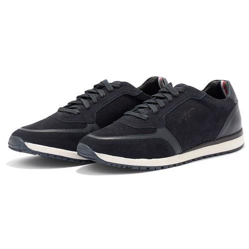 Tommy Hilfiger Premium Suede Runner - Sneakers - ΜΠΛΕ ΣΚΟΥΡΟ