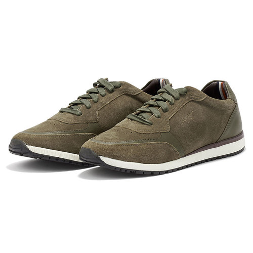 Tommy Hilfiger Premium Suede Runner - Sneakers - ΛΑΔΙ