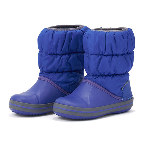 Crocs Winter Puff Boot - Γαλότσες - ΜΠΛΕ/ΓΚΡΙ