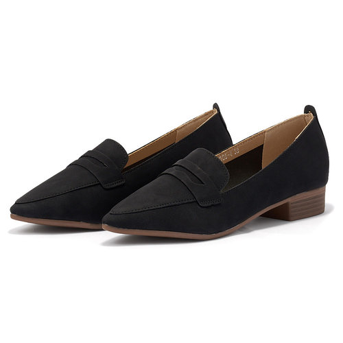 Louvel - Brogues & Loafers - ΜΑΥΡΟ