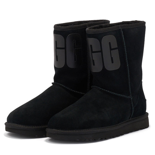 Ugg Classic Short - Μπότες - ΜΑΥΡΟ