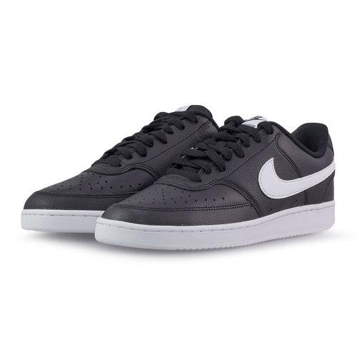 Nike Court Vision Lo - Sneakers - ΜΑΥΡΟ/ΛΕΥΚΟ