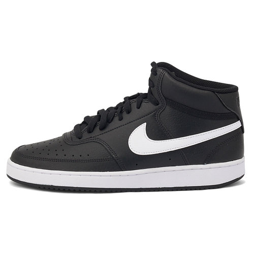Nike Court Vision Mid - Αθλητικά - ΜΑΥΡΟ/ΛΕΥΚΟ