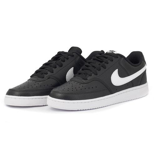 Nike Court Vision Low - Sneakers - ΜΑΥΡΟ/ΛΕΥΚΟ