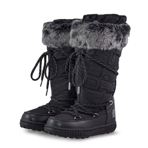 Superdry Stealth Snow Boots - Μπότες - ΜΑΥΡΟ