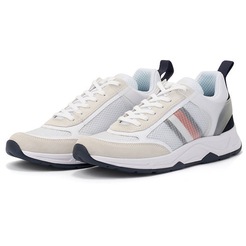 Tommy Hilfiger Premium Runner Corporate Mix - Sneakers - ΛΕΥΚΟ