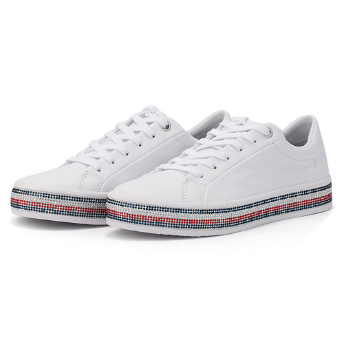 Tommy Hilfiger Tommy Jeweled Sneaker - Sneakers - ΛΕΥΚΟ