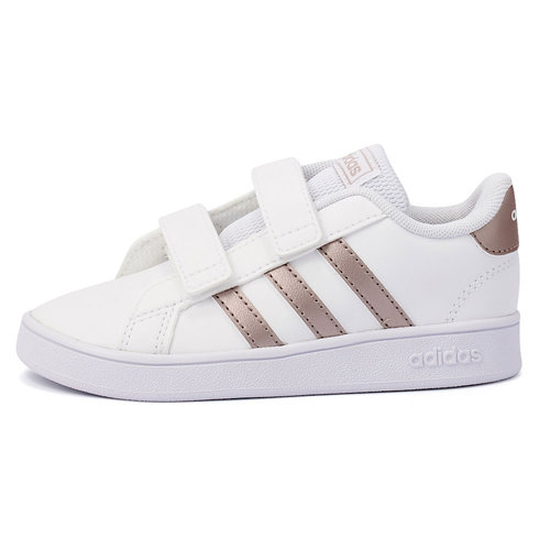 adidas Grand Court I - Sneakers - ΛΕΥΚΟ/ΧΑΛΚΙΝΟ