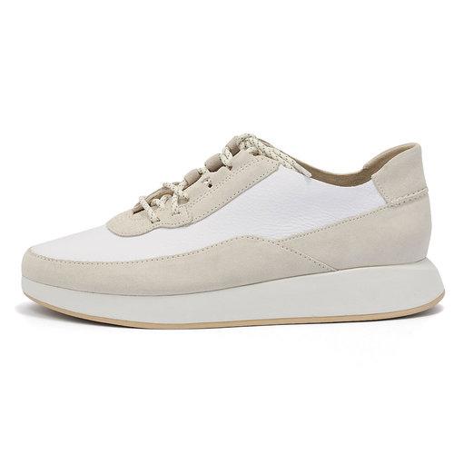 Clarks Kiowa Pace - Sneakers - ΛΕΥΚΟ