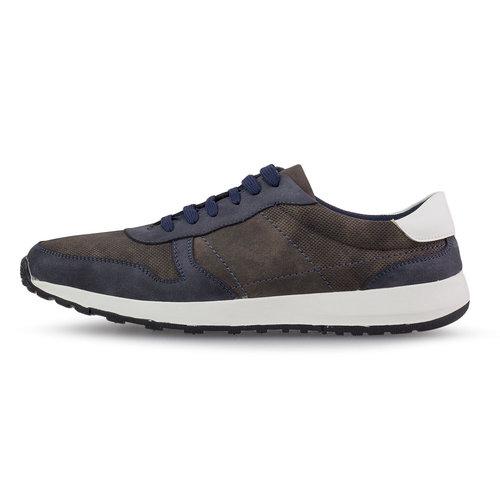 Levon - Sneakers - ΚΑΦΕ/ΜΠΛΕ ΣΚΟΥΡΟ