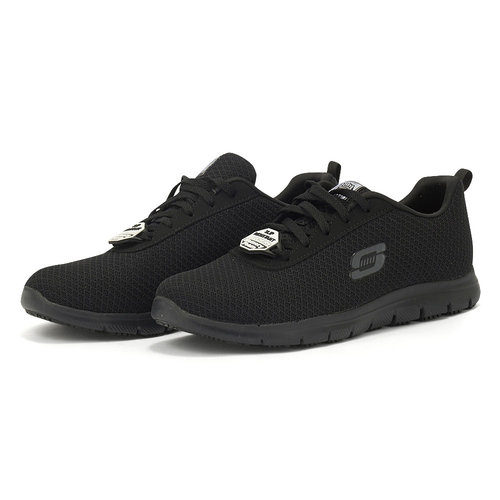 Skechers Lace Up - Αθλητικά - ΜΑΥΡΟ