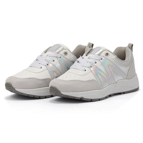 Sprox - Sneakers - ΛΕΥΚΟ/ΑΣΗΜΙ