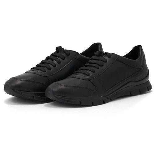 Geox D Sukie C - Sneakers - ΜΑΥΡΟ