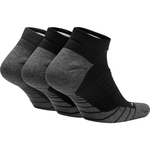 Nike U Nk Evry Max Cush Ns 3Pr - Κάλτσες - ΜΑΥΡΟ/ΓΚΡΙ