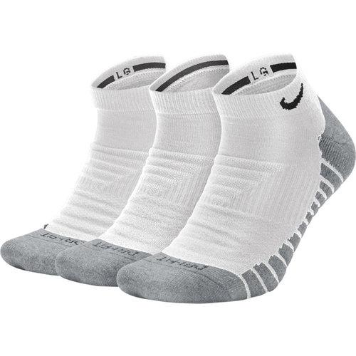 Nike U Nk Evry Max Cush Ns 3Pr - Κάλτσες - ΛΕΥΚΟ/ΓΚΡΙ