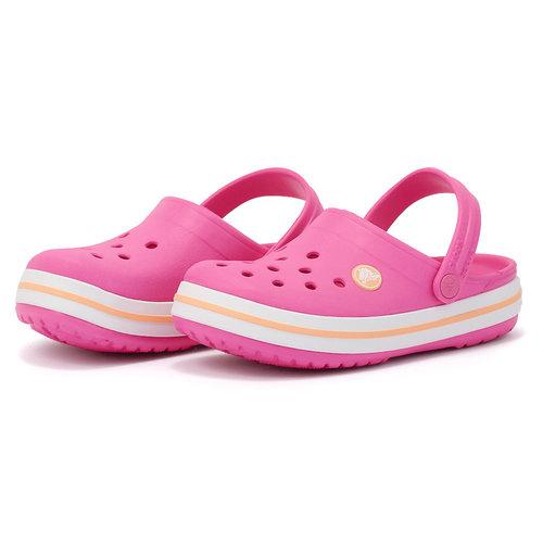 Crocs Crocband Clog K - Πέδιλα - ΡΟΖ
