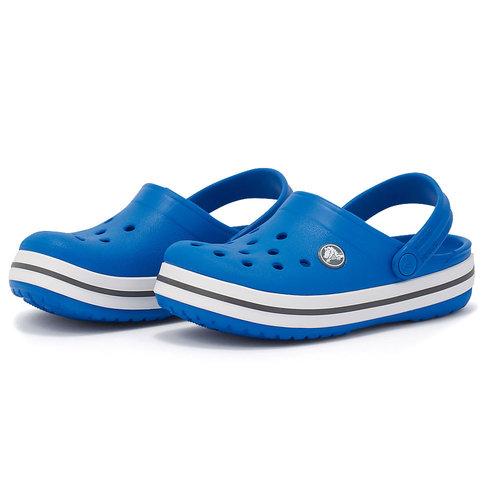 Crocs Crocband Clog K - Πέδιλα - ΜΠΛΕ/ΓΚΡΙ