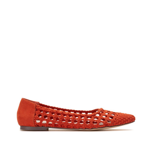 La Redoute Collections - Μπαλαρίνες - SPICY RED