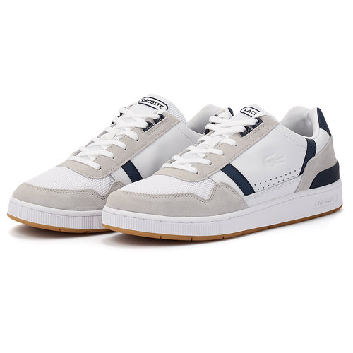 Lacoste T-Clip 120 - Sneakers - ΛΕΥΚΟ/ΓΚΡΙ