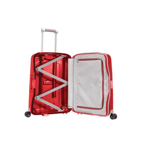 Samsonite S'Cure-Spinner - Βαλίτσες - ΚΟΚΚΙΝΟ