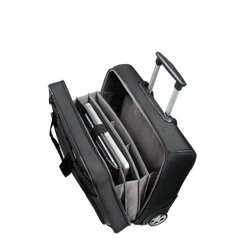 Samsonite Xbr Business Case 15.6 - Βαλίτσες - ΜΑΥΡΟ