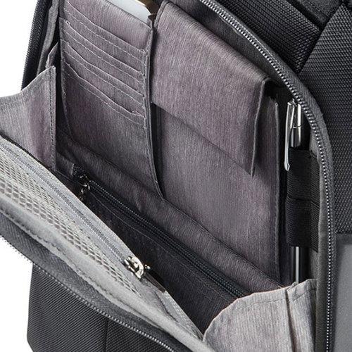 Samsonite Xbr Laptop Backpack 14.1 - Τσάντες - ΜΑΥΡΟ