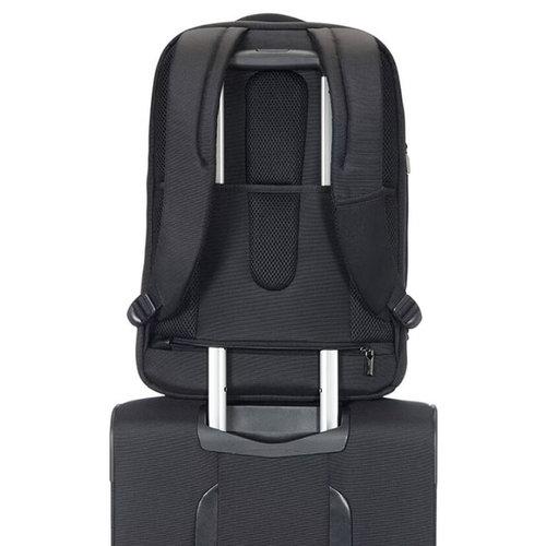 Samsonite Xbr Laptop Backpack 17.3 - Τσάντες - ΜΑΥΡΟ