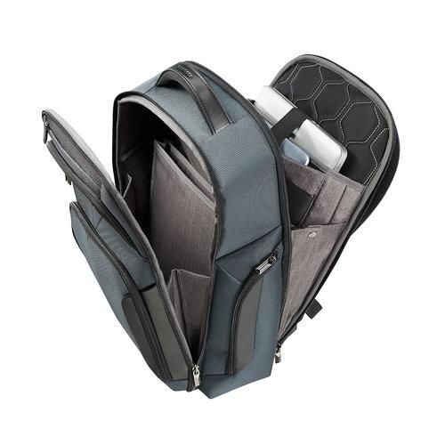 Samsonite Xbr Laptop Backpack - Τσάντες - ΓΚΡΙ/ΜΑΥΡΟ