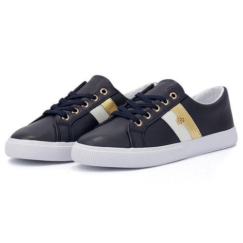 Lauren Ralph Lauren - Sneakers - ΜΠΛΕ ΣΚΟΥΡΟ
