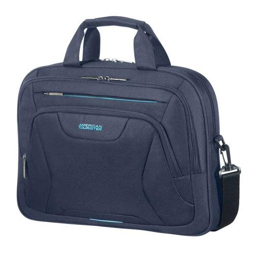 American Tourister  At Work Laptop Bag - Τσάντες - ΜΠΛΕ ΣΚΟΥΡΟ