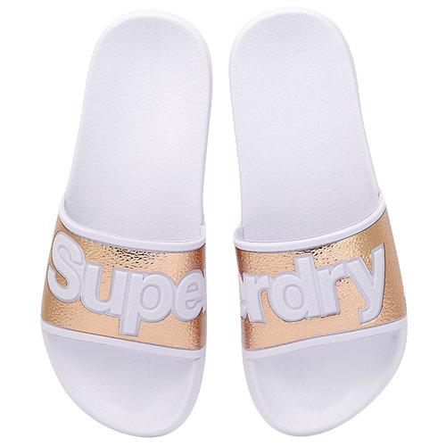 Superdry D1 Eva 2.0 Pool Slide - Σαγιονάρες - ΧΑΛΚΙΝΟ