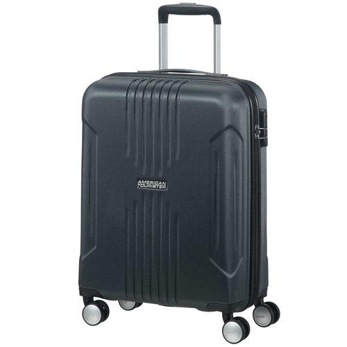 American Tourister  Tracklite Spinner - Βαλίτσες - ΜΑΥΡΟ
