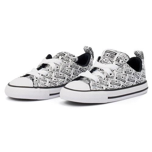 Converse Star Street License Plate Slip-On - Sneakers - ΛΕΥΚΟ