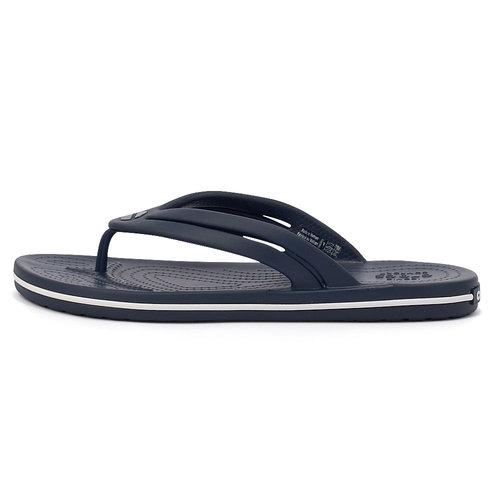 Crocs Crocband Flip W - Σαγιονάρες - ΜΠΛΕ ΣΚΟΥΡΟ