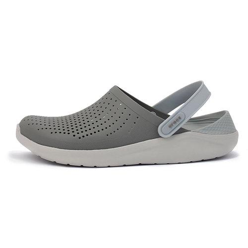 Crocs LiteRide Clog - Σαγιονάρες - ΓΚΡΙ